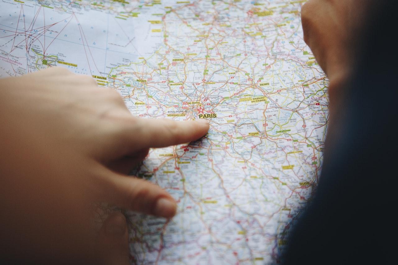 viajar año nuevo mapa